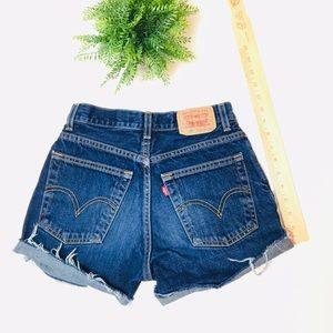 "Other - 23/24"" Levi's Custom Jean Shorts (Girls 12)"